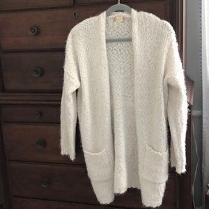 Long white cardigan, took tags off never worn